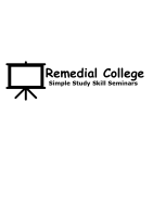 Remedial College